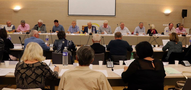 """Programme """"Leader"""", fonds de concours aux communes, nouvelle crèche à Contes… étaient à l'ordre du jour du dernier conseil communautaire du Pays-des-Paillons."""