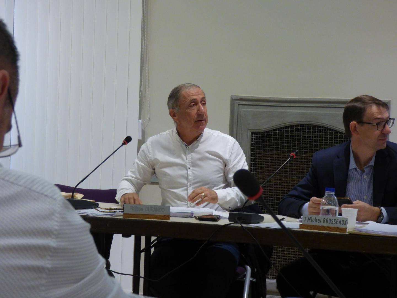 Jean-Michel Rousseaux est le seul élu à s'être prononcé hier contre le projet du quartier de Paris.