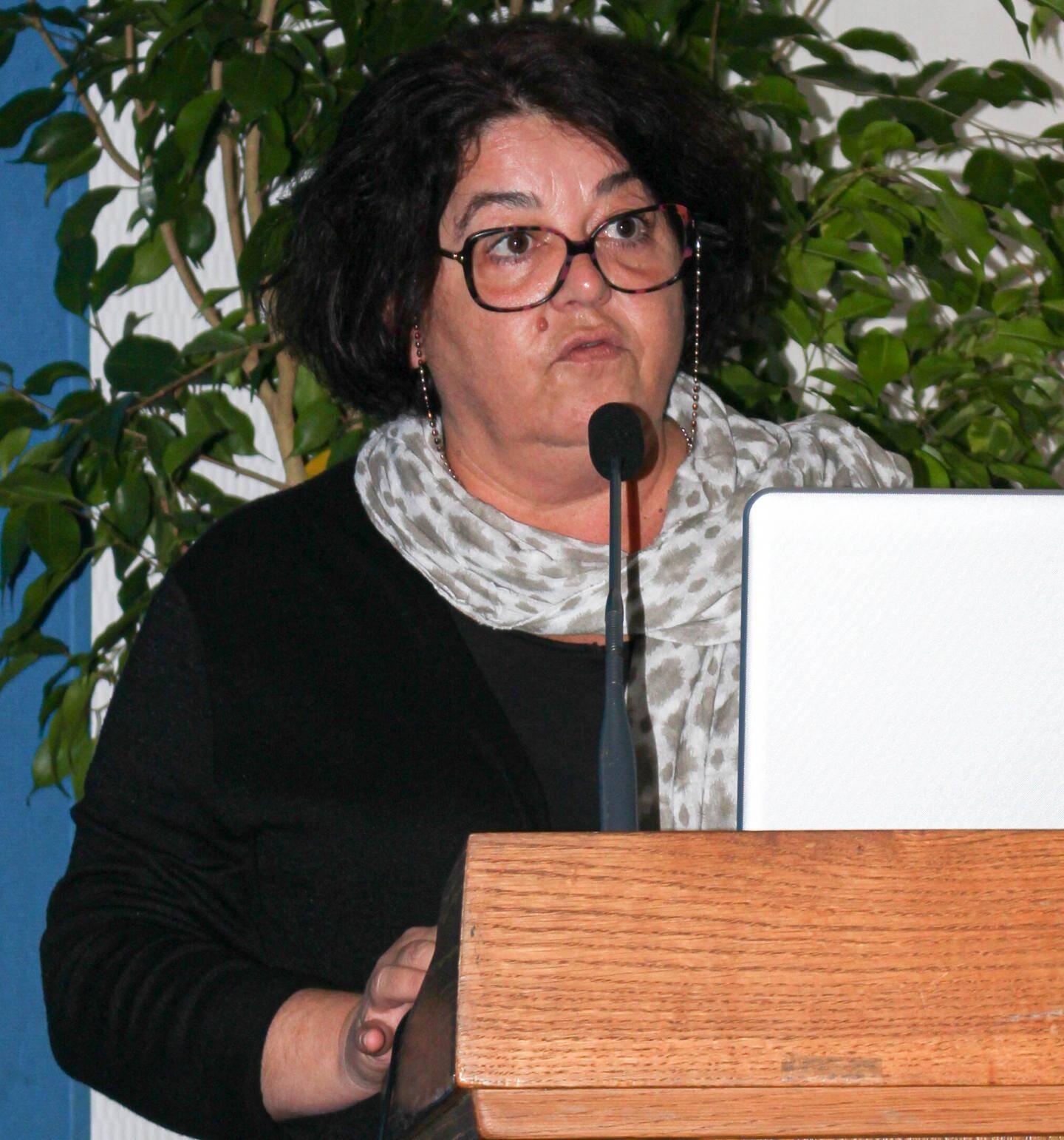 Nathalie Jaffres, directrice par intérim du groupement hospitalier.