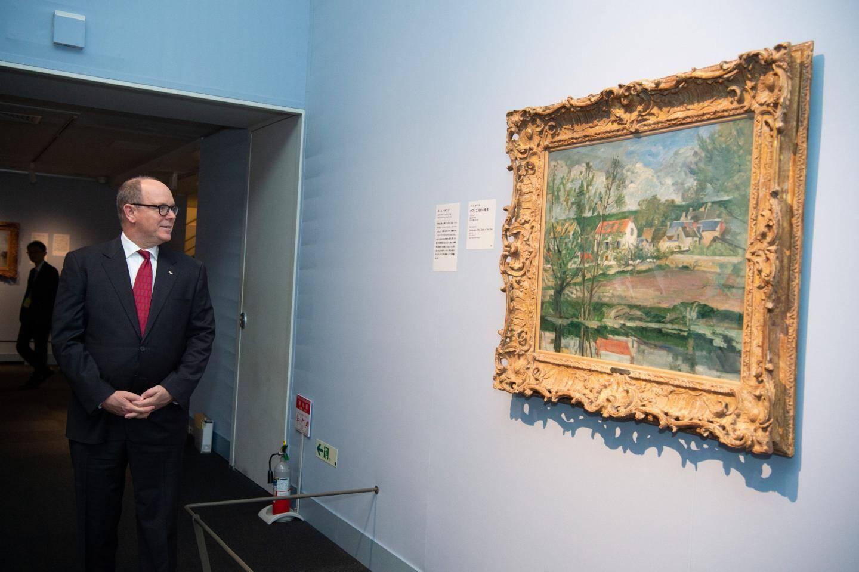 Le Prince s'est rendu à l'exposition Van Gogh à l'Ueno Royal Museum.