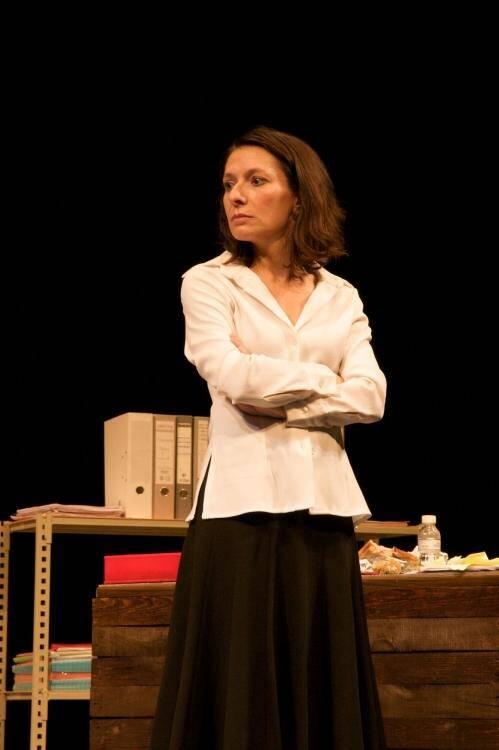Sophie Cossu a non seulement réalisé la mise en scène, mais incarne également l'un des personnages.(DR)