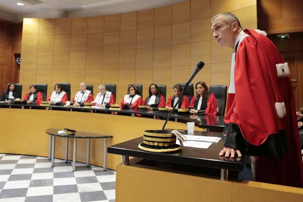 Le procureur général près la cour d'appel de Bastia Franck Rastoul, le 16 janvier 2017 à Bastia