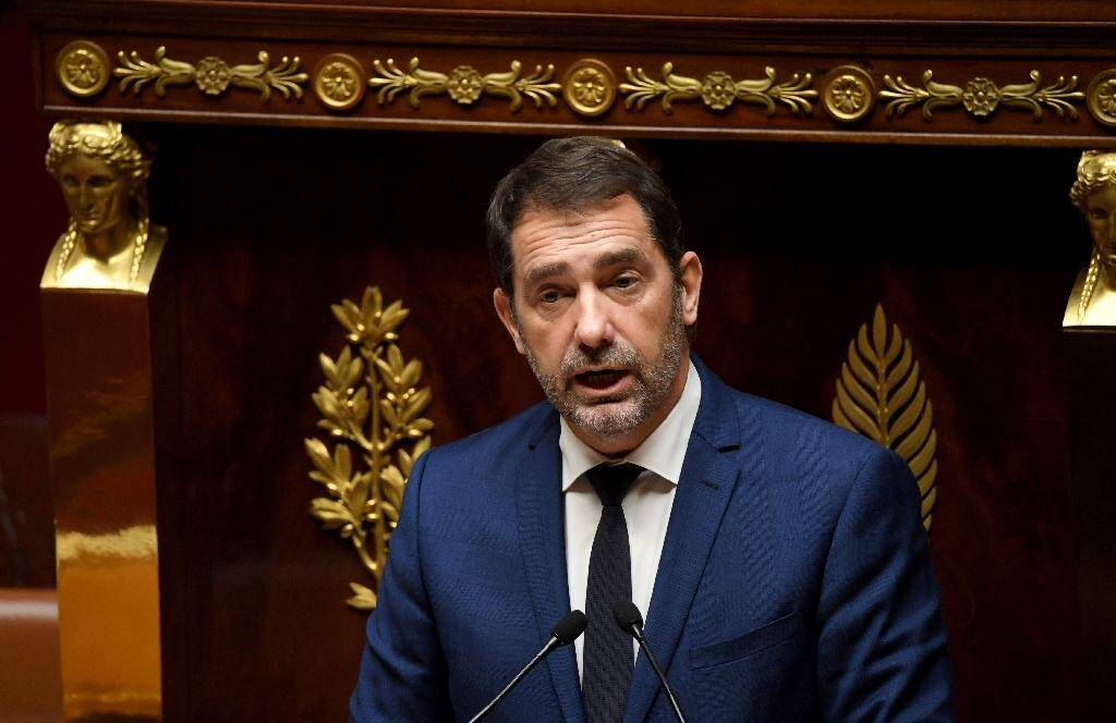 Le ministre de l'Intérieur Christophe Castaner à l'Assemblée le 7 octobre 2019