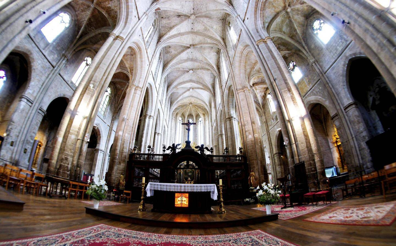Parmi les projets aidés par la Fondation: le chœur de la basilique de Saint-Maximin.