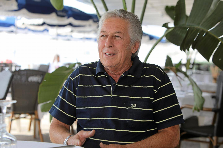 Le président du syndicat des plagistes, René Colomban.