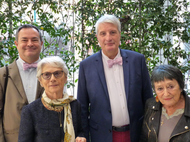 Pierre Marx, conseiller de valeurs mobilières, et Pascal Houriez, retraité.