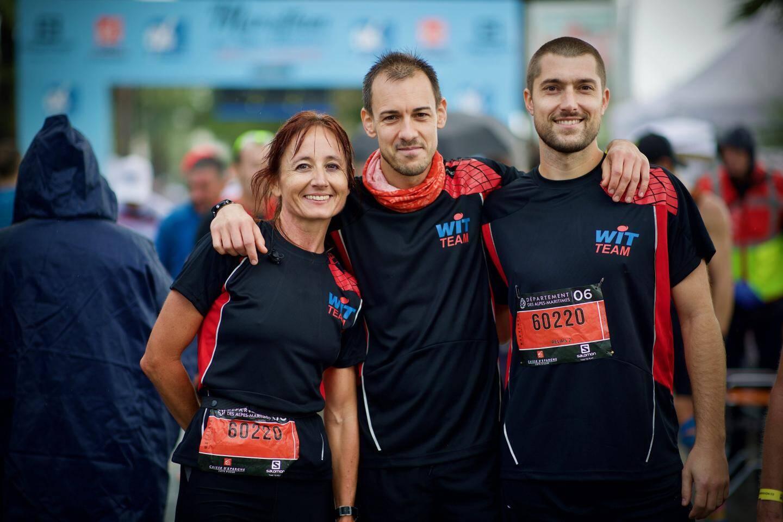 La course en relais, c'est l'aventure sportive et humaine qu'ont partagée les salariés de la société Wit. Avec un marathon collectif bouclé en 3 h 15 !