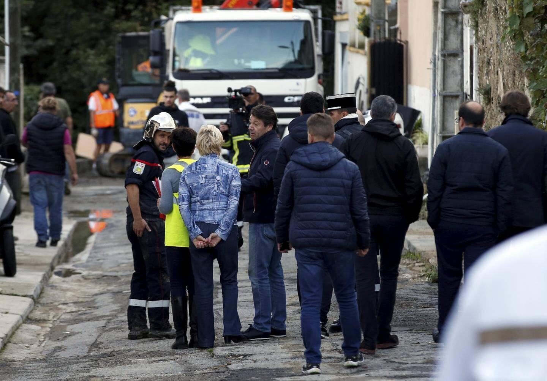 Christian Estrosi et le préfet Gonzalez sont arrivés ensemble rue Sevan.