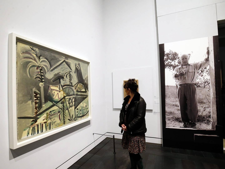 Le public a jusqu'au 23 février prochain pour découvrir l'exposition consacrée à Picasso et le paysage méditerranéen.