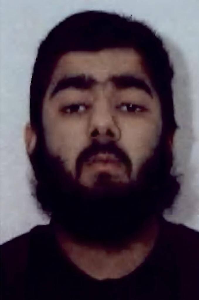 Photo non datée d'Usman Khan, alors âgé de 20 ans, qui a tué deux personnes à Londres lors d'une attaque terroriste au couteau