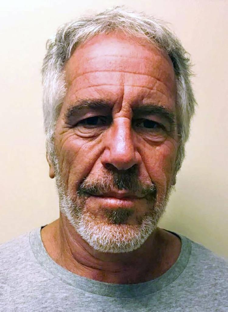Portrait de Jeffrey Epstein réalisé à New York le 11 juillet 2019 par le New York State Sex Offender Registry