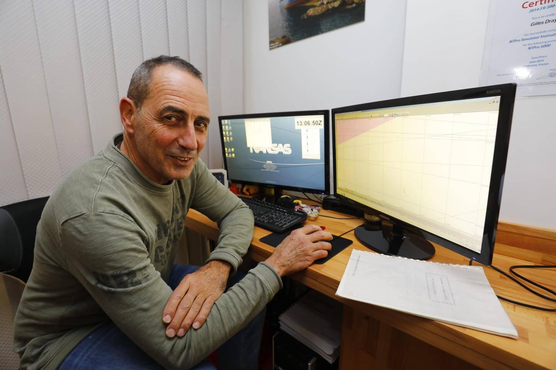 Gilles Dray a fondé l'école Navy Services en 2014, à Cagnes-sur-Mer, avant de s'installer à Antibes en 2018.