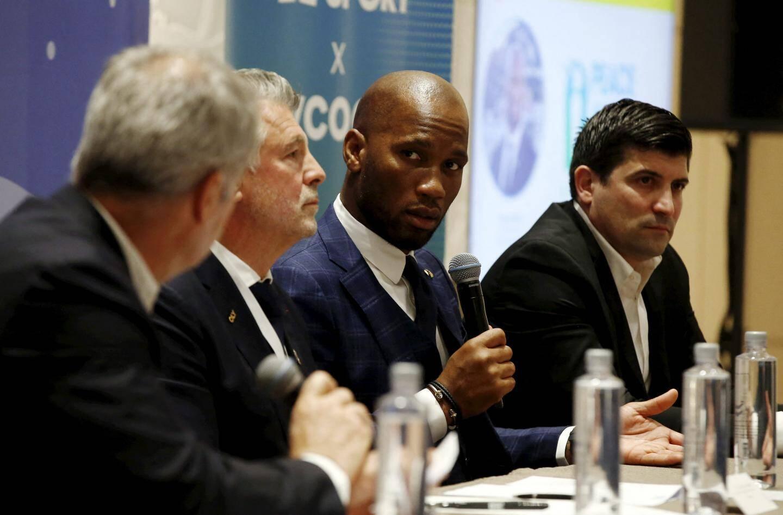 Didier Drogba sur l'application Peace and Sport X My Coach : « À l'époque du digital, cette application permet une ouverture au monde. »