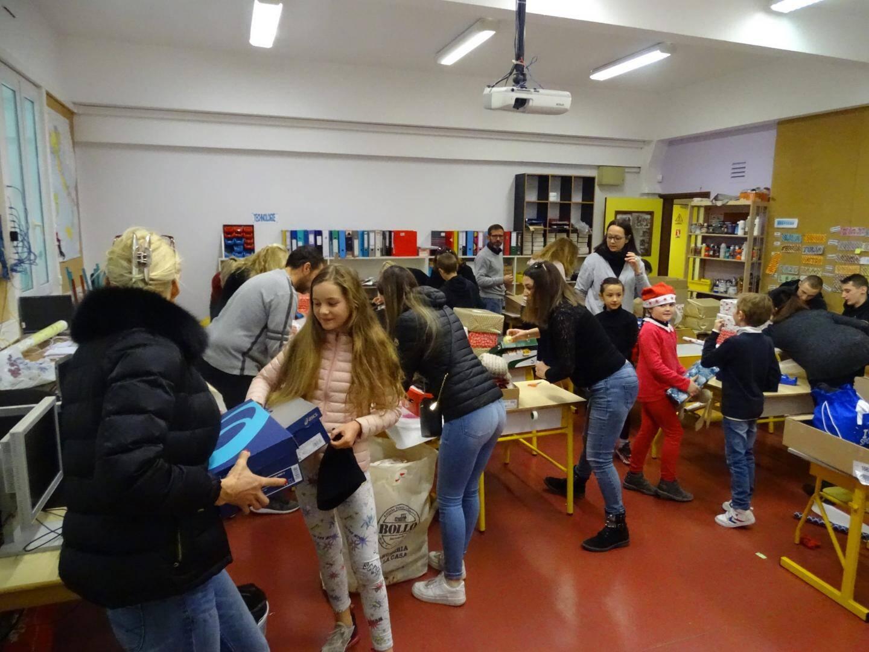 Lors de l'élection des représentants d'élèves dans une classe de l'école de Cabbé.(DR)