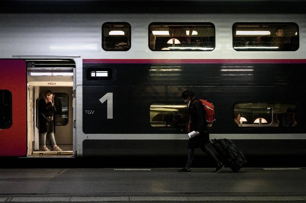 Des voyageurs à la gare de Lyon à Paris, le 20 décembre 2019. .