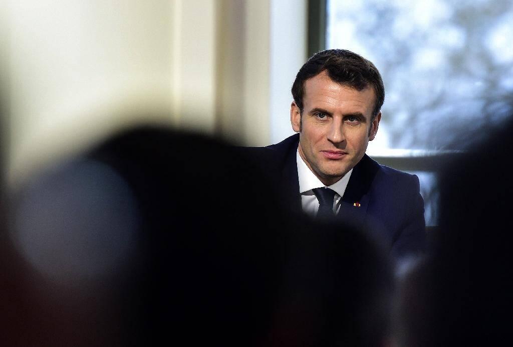 Emmanuel Macron à Pau, le 14 janvier 2020