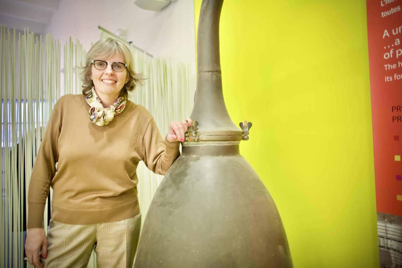 Marie-France Zumofen, directrice de l'ISIPCA depuis le 4 novembre.