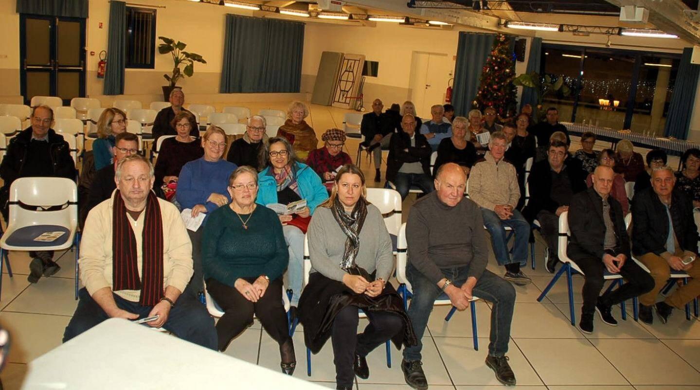 Les adhérents sont venus assister à la réunion annuelle.