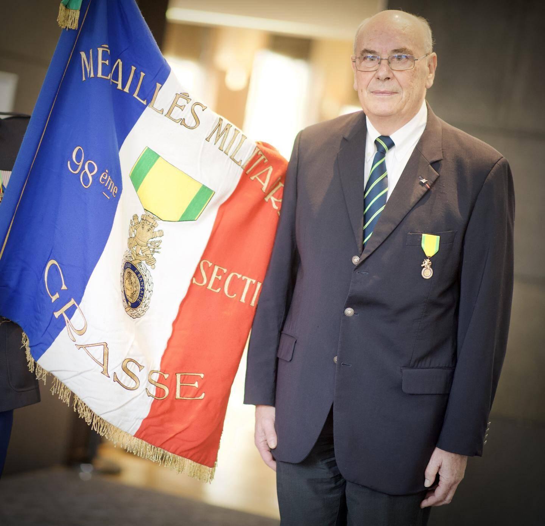 Bernard Porre, président de la 98e section.