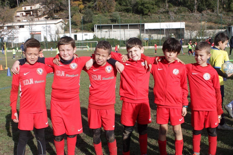 Les jeunes footeux de Mouans Sartoux se sont régalés lors du tournoi organisé par le Stade Olympique Roquettan.