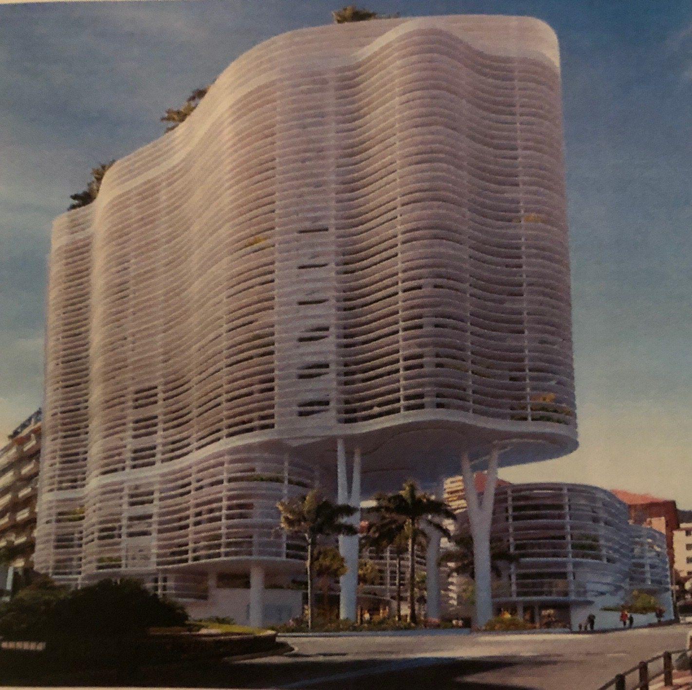Le palais honoria, tel qu'il sera livré début 2023.
