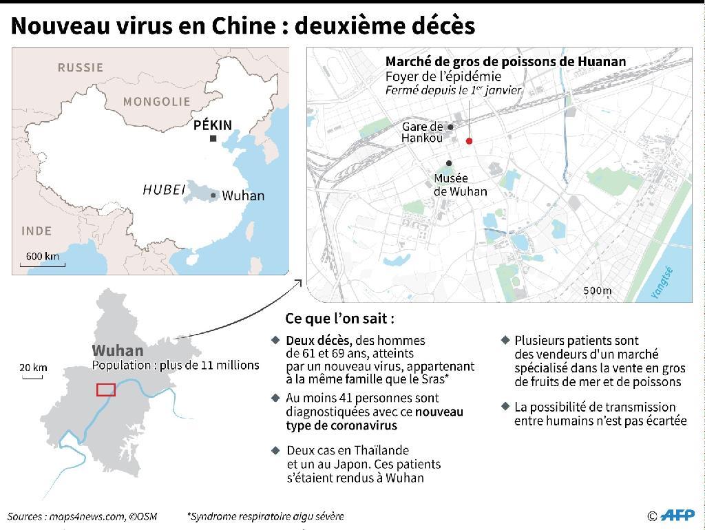 Nouveau virus en Chine : deuxième décès