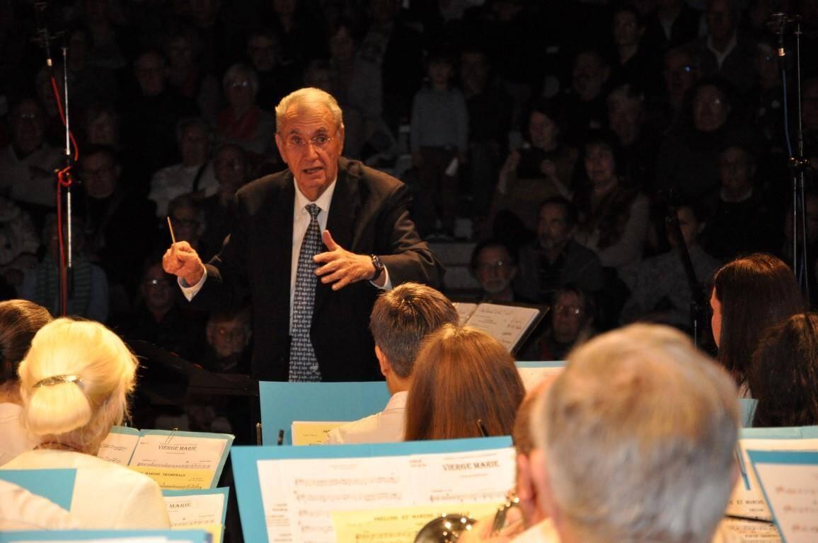 Jean Arèse a été nommé chef de musique de La Seynoise en 1958.