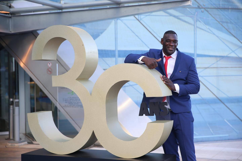 Patrice Quarteron était invité aux 30 ans du Sportel en octobre dernier.