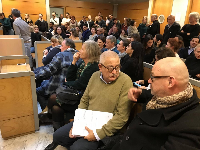 Une assemblée générale du barreau de Draguignan s'est tenue ce lundi 27 janvier dans l'après-midi au palais de justice.