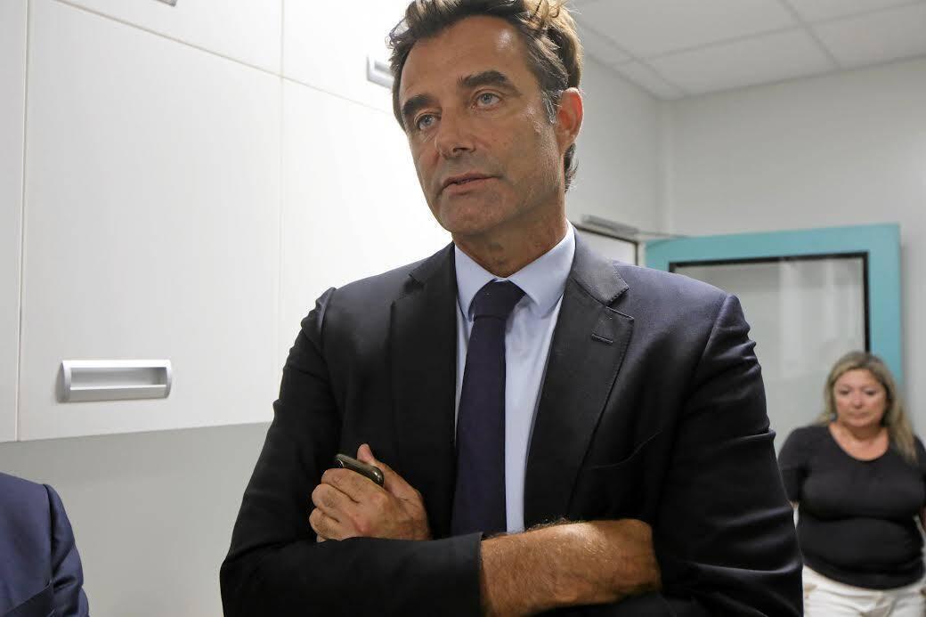 Le professeur Patrick Baqué, doyen de la faculté de médecine de Nice.