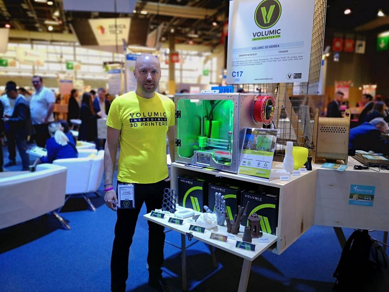 La Niçoise Volumic D, qui représentera les Alpes-Maritimes, a reçu il y a quelques deux awards au CES de Vegas pour son imprimante conçue en France.