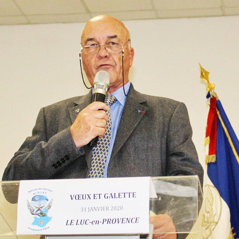 Le président, Denis Bertrand.