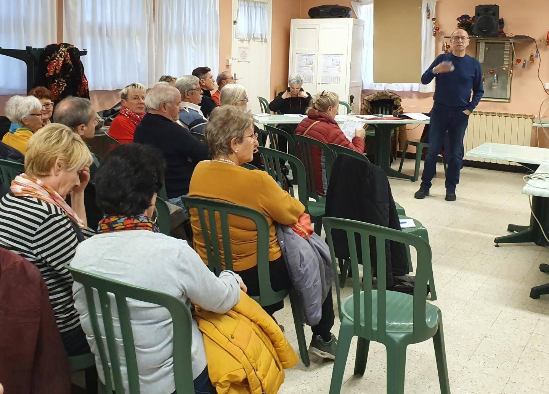 Une quarantaine de personnes a fait le déplacement vendredi soir pour asssiter à la réunion du CIL d'Aguillon-Eygoutier.