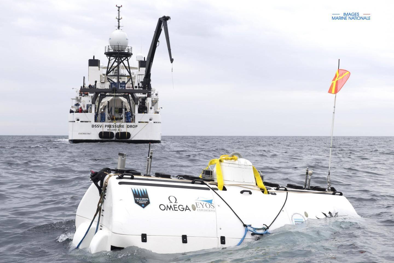 Ce week-end, deux plongées ont été réalisées sur l'épave du sous-marin au sud de Toulon.