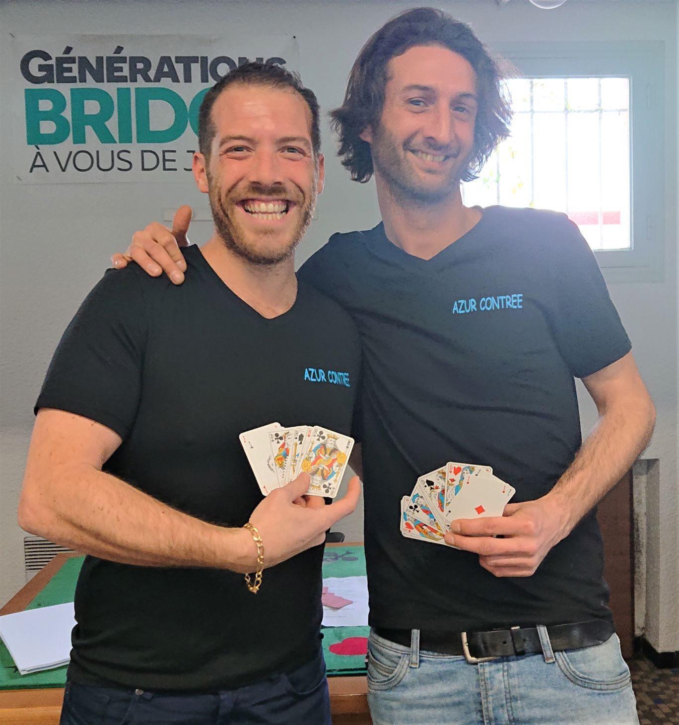Les deux Thibault de l'association Azur Contrée propageaient leur bonne humeur à tout-va lors !