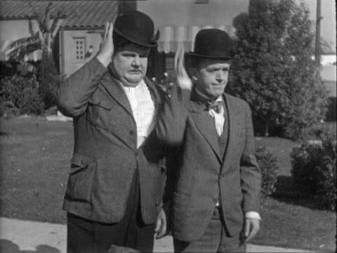 Laurel et Hardy dans Oeil pour œil.(DR)