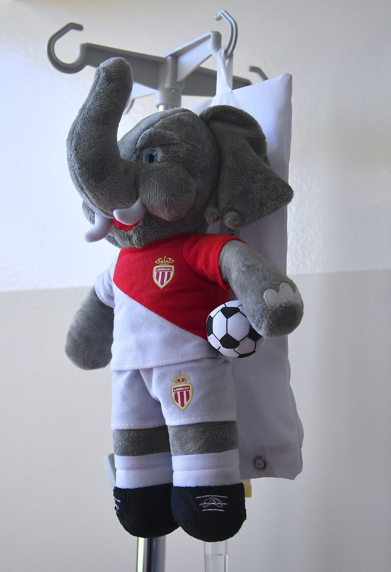 « Bouba », la mascotte est devenue un cache perfusion.