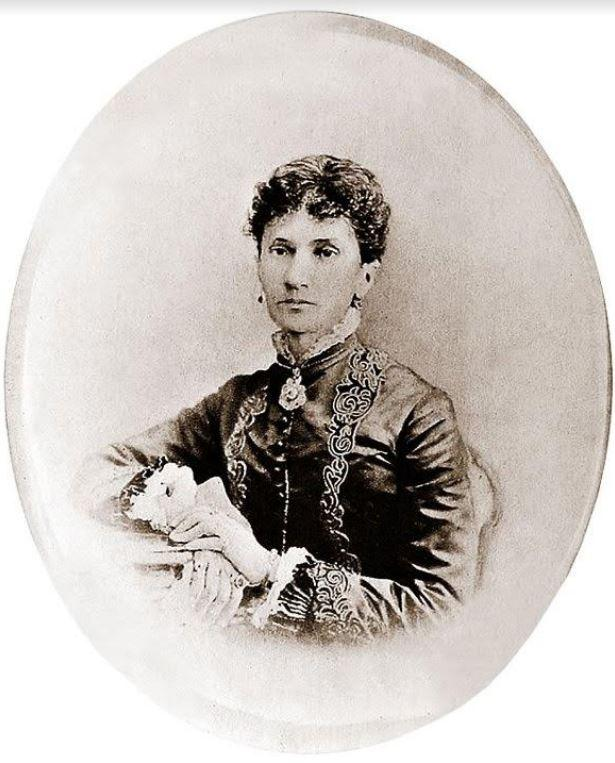 Nadejda von Meck, la protectrice de Tchaïkovsky, morte à Nice en 1894.