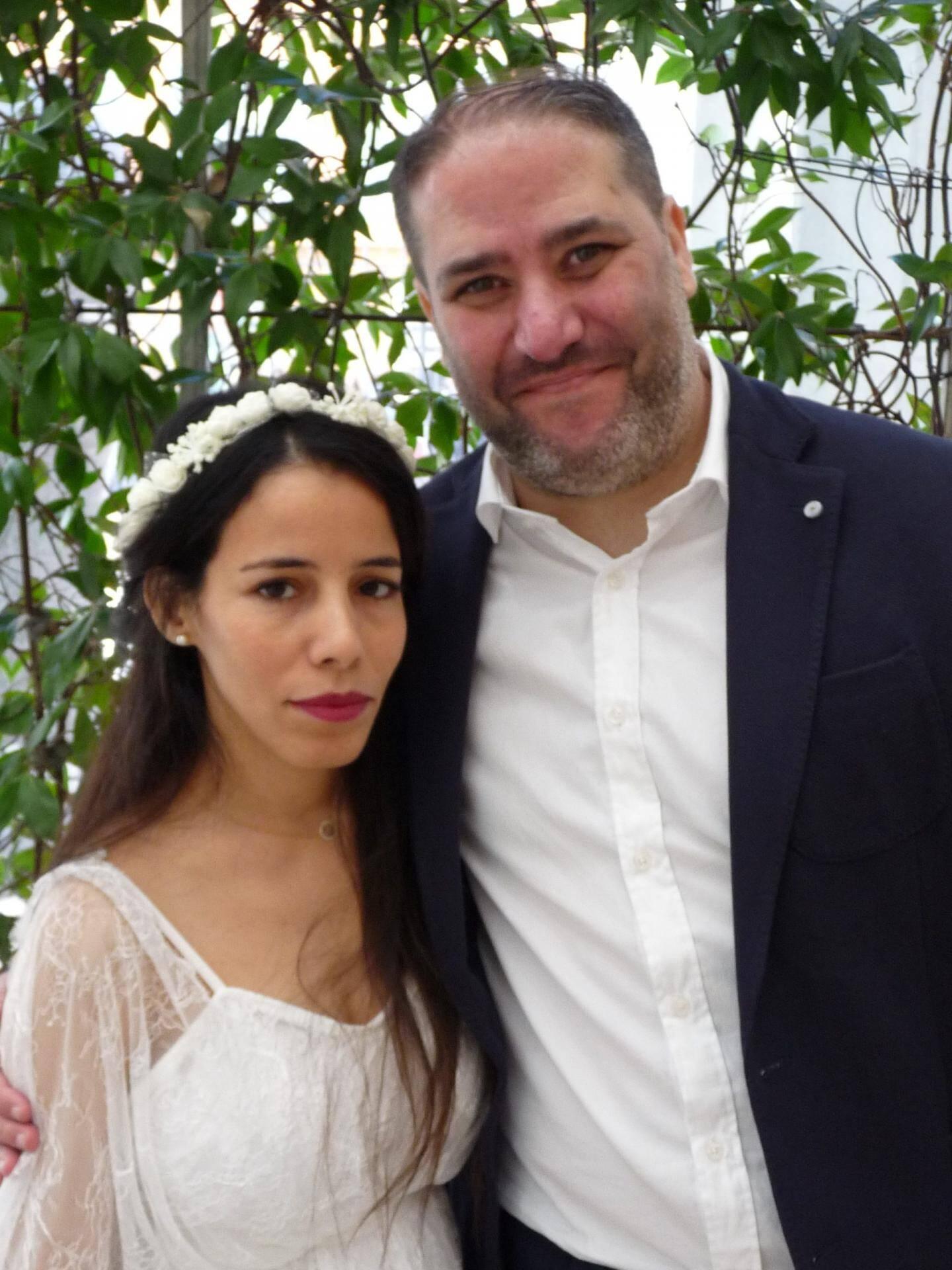 Mouna et Julien.