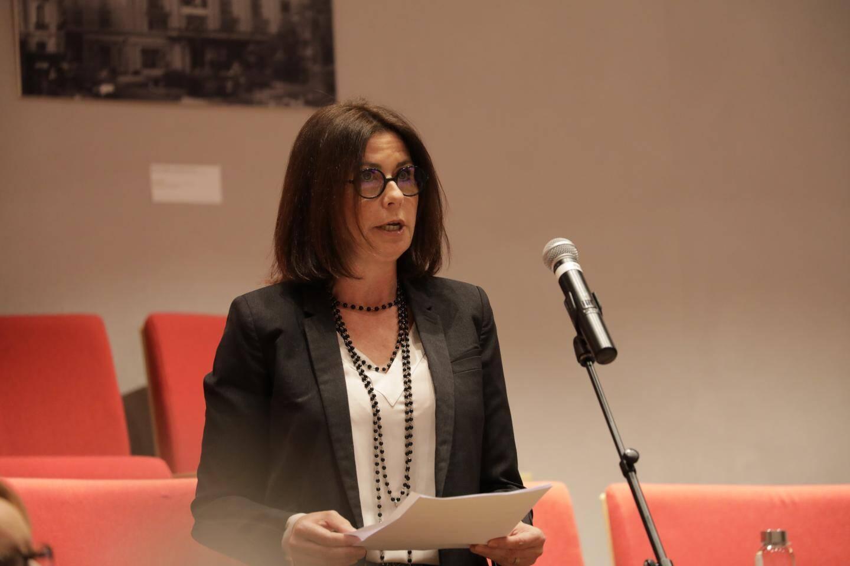 Béatrice Fresko Rolfo en séance publique jeudi soir.