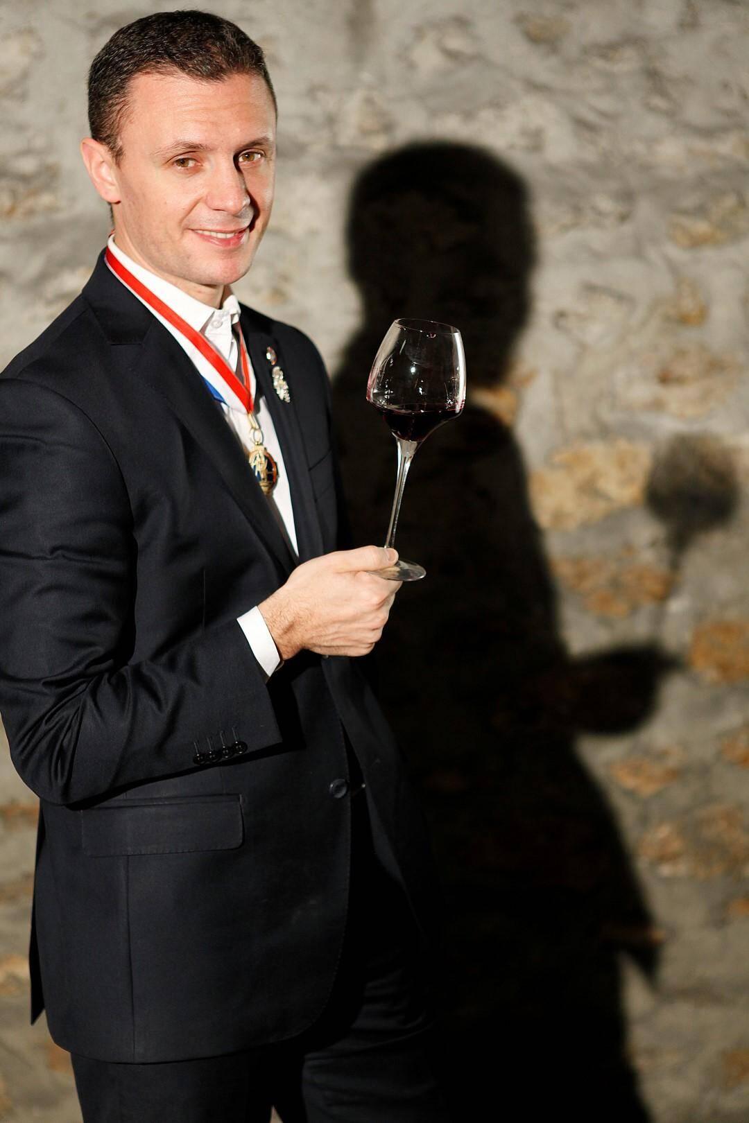 Manuel Peyrondet, créateur de Chais d'oeuvre.