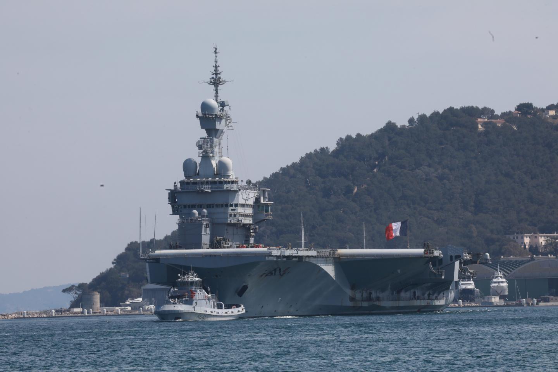 Le Charles-de-Gaulle est rentré dimanche à Toulon.