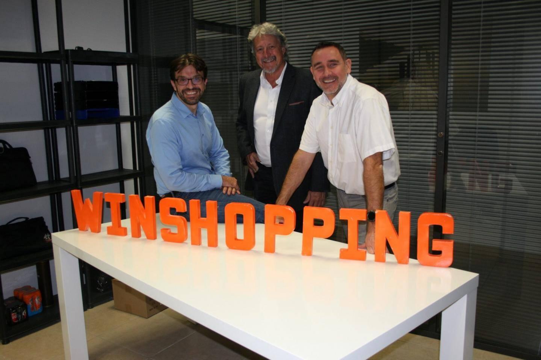 Didier, Jean-Marc et Eric, trois Valettois ont créé cette application permettant de faire ses courses à distance et d'ensuite les récupérer chez les commerçants affiliés.