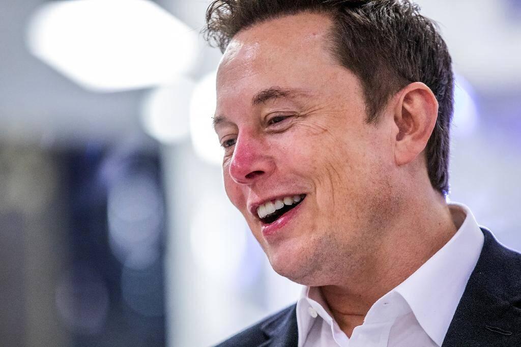 Elon Musk, fondateur de SpaceX, le 10 octobre 2019 au siège de sa société à Hawthorne (Californie)