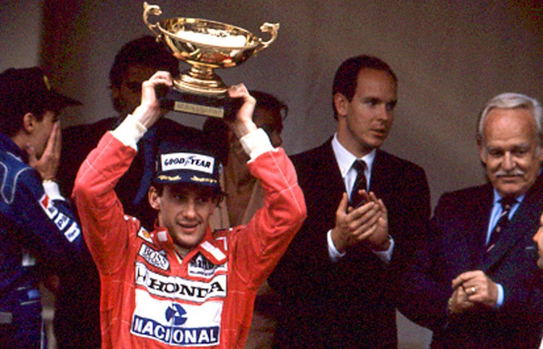 Ayrton Senna en 1990.