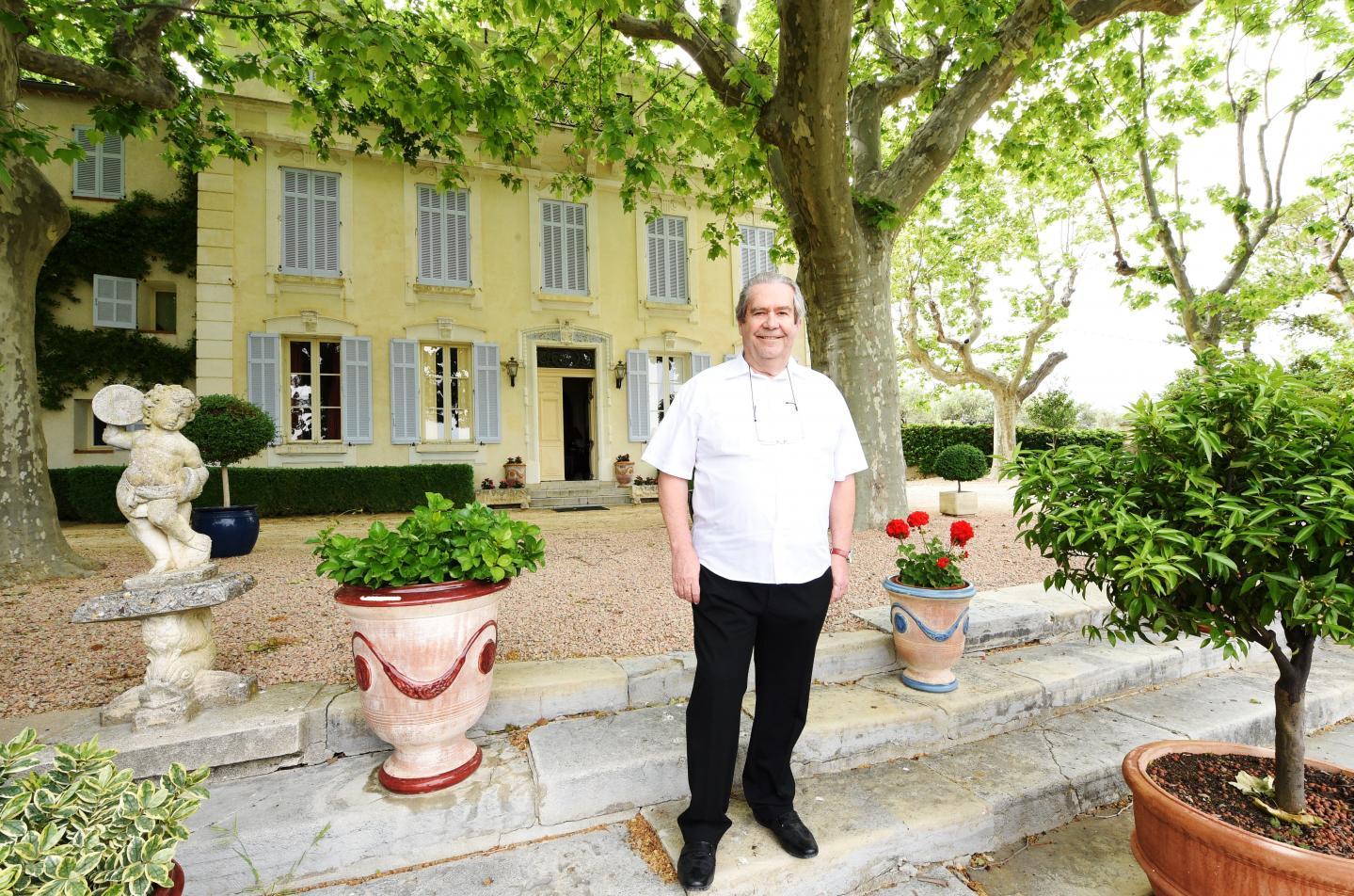 Christian  Lallier, propriétaire de La Source St Michel à Draguignan.