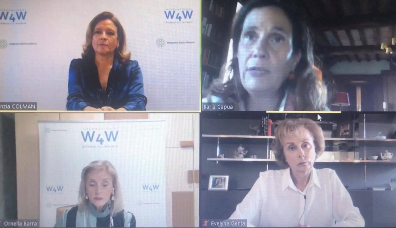 La conférence virtuelle a permis d'écouter, en direct, plusieurs femmes présentes en Angleterre, en Floride et à Monaco.
