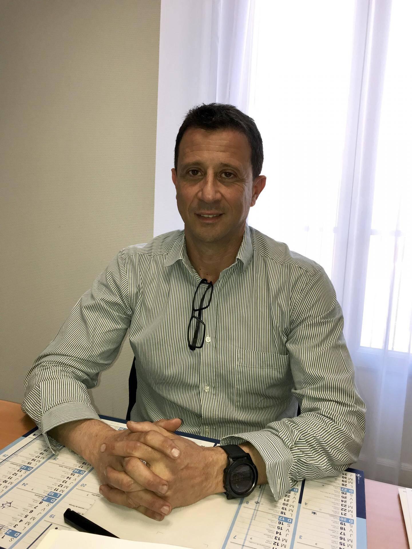 Faredj Cherikh, chef du service addictologie au CHU de Nice