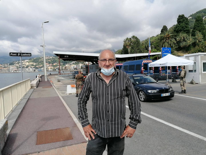 Roberto Parodi est le président de la FAI, l'association des transfrontaliers italiens.