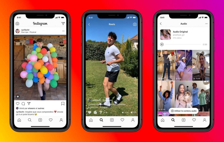 Avec Reels, Instagram entend concurrencer TikTok.